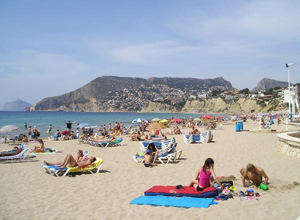 Fotos calpe casas real for Hoteles en calpe playa